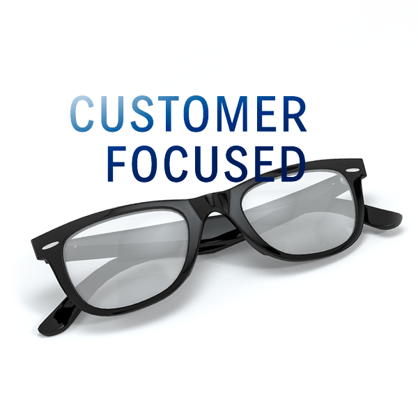 We are Customer Focused
