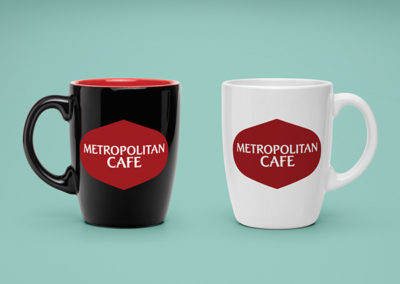 Metropolitan Cafe Logo Design