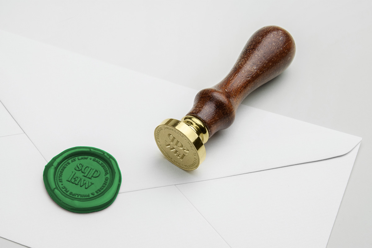 Law Firm Wax Seal Design